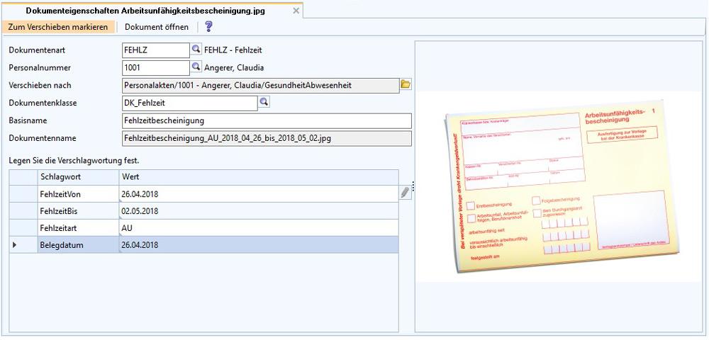 ordnerstruktur digitale personalakte - Beispiel Ordnerstruktur Unternehmen