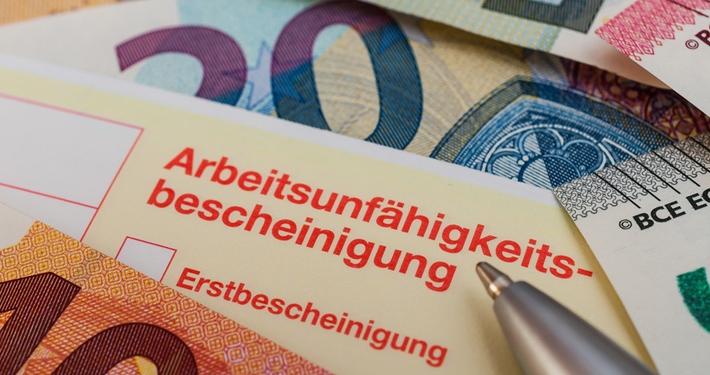 Entgeltfortzahlung im Krankheitsfall