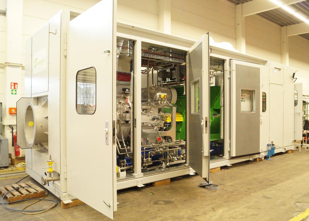 Gasturbine von Kawasaki Gas Turbine Europe