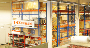 Mobile Lagerlösung bei Kawasaki KGE